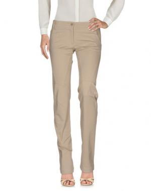 Повседневные брюки CLIÓ. Цвет: бежевый