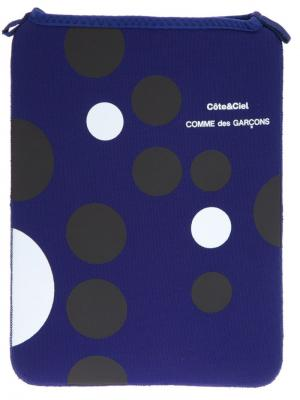 Чехол-рукав для планшета Comme Des Garçons Play. Цвет: синий