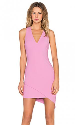 Платье rosa Elizabeth and James. Цвет: розовый