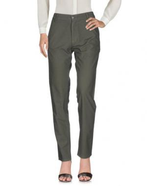 Повседневные брюки SCOUT. Цвет: зеленый-милитари