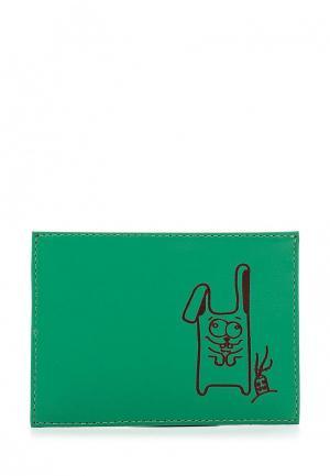 Кредитница Fabula. Цвет: зеленый