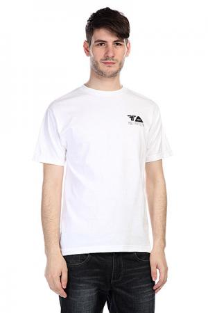 Футболка  Poler X Shirt White/Black Fallen. Цвет: белый