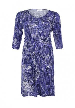 Платье Ulla Popken. Цвет: фиолетовый