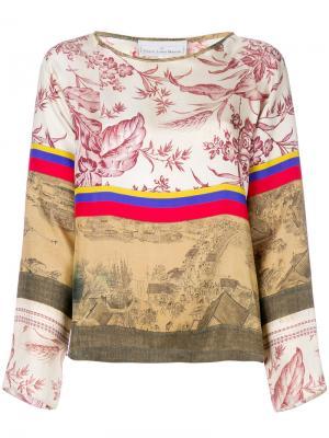 Patterned blouse Pierre-Louis Mascia. Цвет: многоцветный