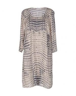 Короткое платье GRAN SASSO. Цвет: бежевый
