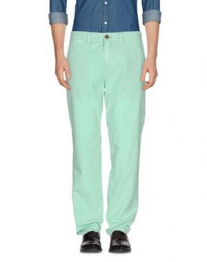 Повседневные брюки RED SOUL. Цвет: светло-зеленый