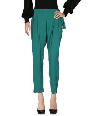 Повседневные брюки INTROPIA. Цвет: зеленый