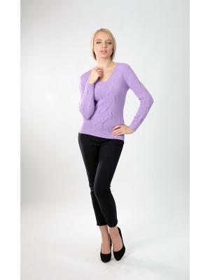 Пуловер Sharvell. Цвет: сиреневый