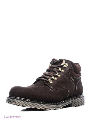 Ботинки Shoiberg. Цвет: антрацитовый, темно-коричневый, темно-серый