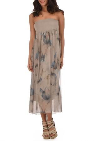 Платье Lila Rose. Цвет: серый