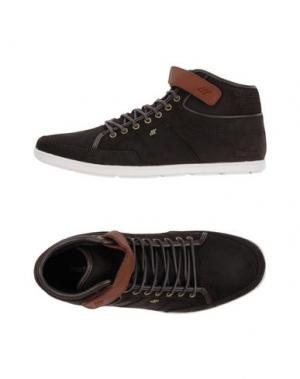 Высокие кеды и кроссовки BOXFRESH. Цвет: темно-коричневый