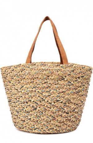 Плетеная сумка Bois Cheri Sans-Arcidet. Цвет: бежевый