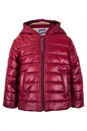 Куртка Gulliver Baby. Цвет: бордовый