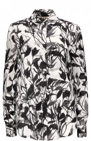 Блуза Haute Hippie. Цвет: черно-белый