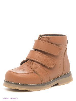 Ботинки ТАШИ ОРТО. Цвет: светло-коричневый