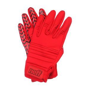 Перчатки сноубордические  Daily Pipe Red Neff. Цвет: красный