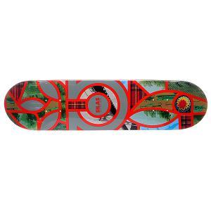 Дека для скейтборда  S5 Silas Melange 32 x 7.75 (19.7 см) Habitat. Цвет: мультиколор