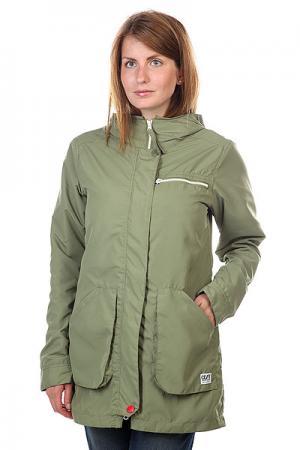 Куртка парка женская  Bridge Parka Loden CLWR. Цвет: зеленый