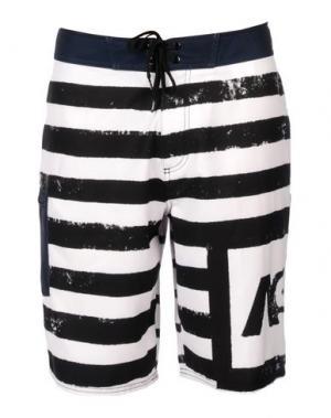 Пляжные брюки и шорты ANALOG. Цвет: белый