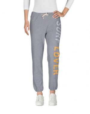 Повседневные брюки RIPCURL. Цвет: светло-серый