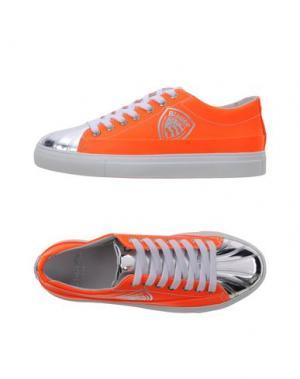 Низкие кеды и кроссовки BLAUER. Цвет: оранжевый