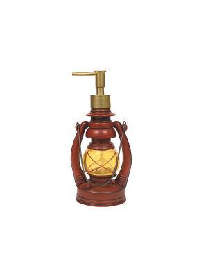 Дозатор для жидкого мыла Blonder Home. Цвет: красный