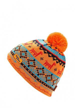 Шапка Kama. Цвет: оранжевый