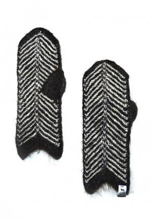 Варежки ОренбургШаль. Цвет: серый