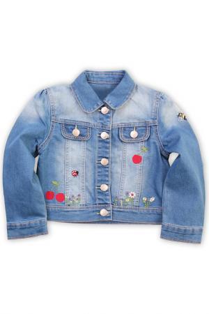 Жакет-пиджак Me&We. Цвет: голубой