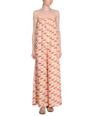 Пляжные брюки и шорты MARZIA GENESI SEA. Цвет: оранжевый
