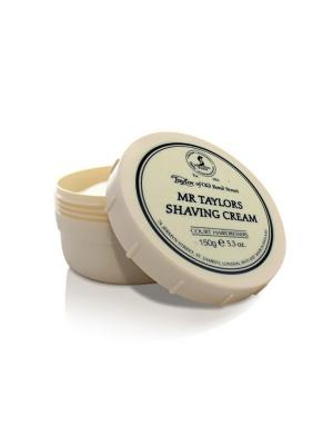 Крем для бритья Mr.Taylor Shaving Cream Bowl 150гр Taylor of Old Bond Street. Цвет: молочный