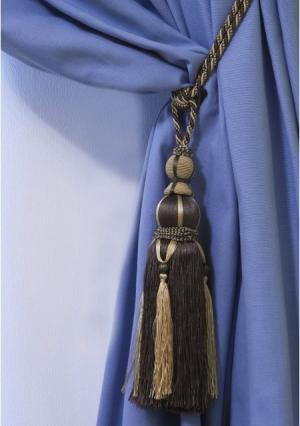 Декоративный подхват для штор TERNELLO. Цвет: бежевый (коричнево-бежевый), коричневый (шоколадный, бежевый)