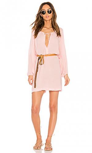Платье summer of love juliet eberjey. Цвет: розовый