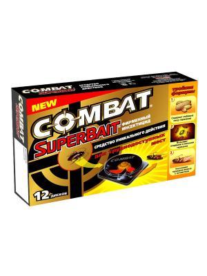 Combat Super Bait инсектицид (уп.12)NEW. Цвет: серый