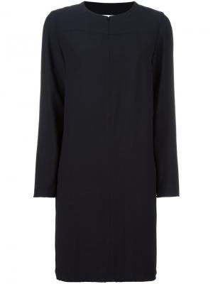Платье шифт Akris Punto. Цвет: чёрный