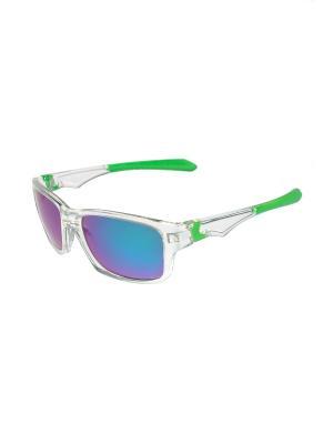 Солнцезащитные очки Gusachi. Цвет: зеленый, синий