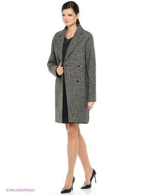 Пальто EURYDIKE. Цвет: черный