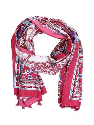 Платок Olere. Цвет: розовый, бордовый, голубой