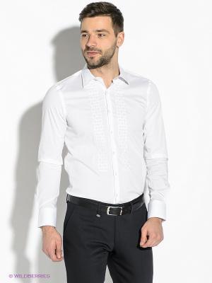 Рубашка GUESS. Цвет: белый