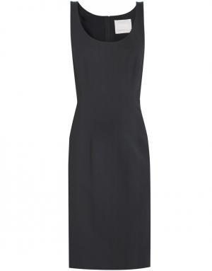 Платье из рами Jason Wu. Цвет: черный