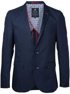 Классический пиджак Loveless. Цвет: синий