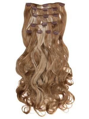 Накладные волосы, пряди на заколках-клипсах Lana VIP-PARIK. Цвет: бежевый, светло-желтый