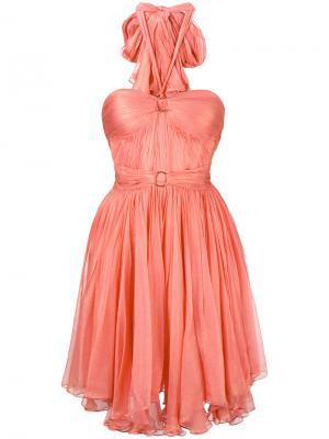 Мини-платье Made Maria Lucia Hohan. Цвет: розовый и фиолетовый