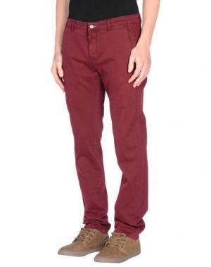 Повседневные брюки JCOLOR. Цвет: пурпурный