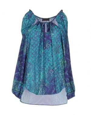 Блузка HALE BOB. Цвет: зеленый