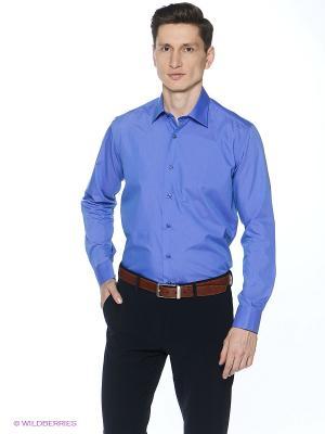 Рубашка Barkland. Цвет: темно-синий