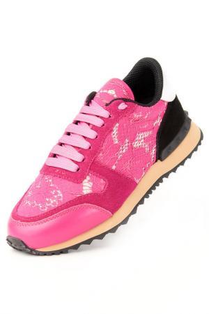 Кроссовки Riccorona. Цвет: розовый