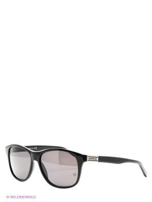 Солнцезащитные очки Montblanc. Цвет: антрацитовый