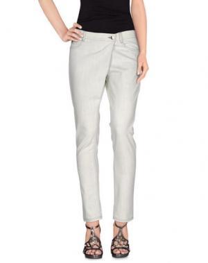 Джинсовые брюки DAMIR DOMA. Цвет: слоновая кость