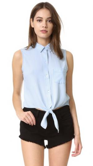 Рубашка на пуговицах без рукавов Shea RAILS. Цвет: светлая винтажная расцветка